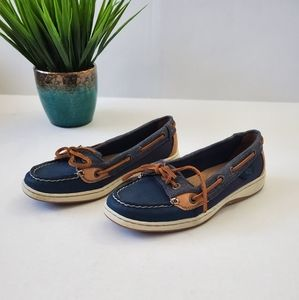 Sperry Topsiders Blue Size 5